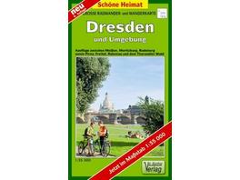 Dresden und Umgebung 1 : 35 000. Radwander- und Wa