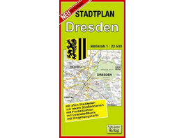 Stadtplan Dresden 1 : 22 500