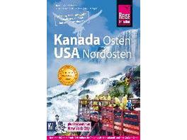 Reise Know-How Reiseführer Kanada Osten   USA Nord
