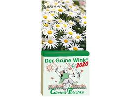 Gärtner Pötschkes Der Grüne Wink Tages-Gartenkalen