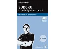 Sudoku - schwierig bis extrem