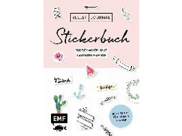 Bullet Journal - Stickerbuch: Band 1: 900 Schmuck-