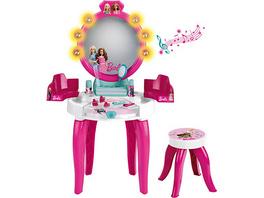 Barbie® Schminktisch mit Hocker inkl. Zubehör - mit Licht & Sound, pink