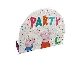 Einladungskarten & Umschläge Peppa Pig Papier, 8 Stück