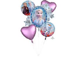 Folienballon-Bouquet Die Eiskönigin 2