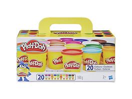 Play-Doh Knetdosen 20er-Pack - World of Color