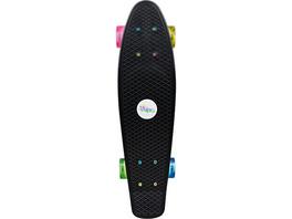 Skateboard Fun neon