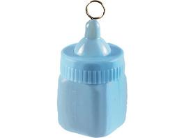 Ballongewicht Babyflasche, blau