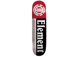 "Section Black Shape 9 7.75"" Skateboard Deck"