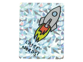 Later Nerds Sticker