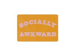 Socially Awkward Sticker