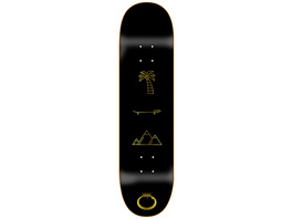 """All You Need Gold 8.25"""" Skateboard Deck"""